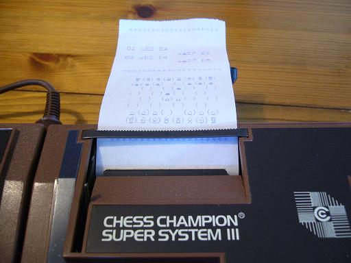 Chess Champion Super System III  14 20x20