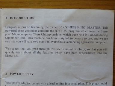 Chess King Master  9  15 x 15