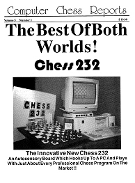 Computer Chess Reports Front Page 1995 18 x 18