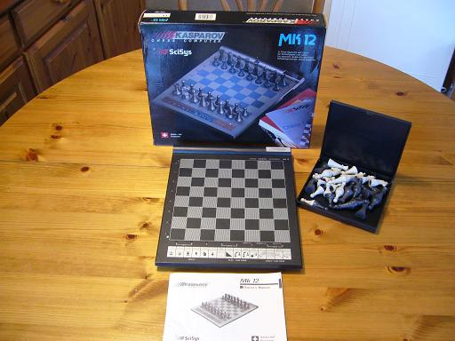 Electronic Chess Mk 12 1 20x20