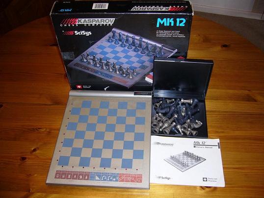 Electronic Chess Mk 12 3 20x22