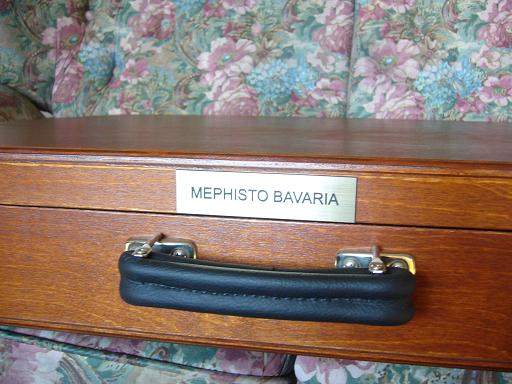 Mephisto Bavaria Genius 68030 London  8  20 x 20