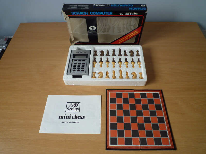 SciSys Mini Chess 12 20 x 20